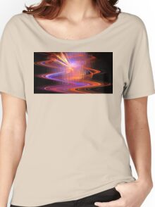 Volcano Waves Women's Relaxed Fit T-Shirt