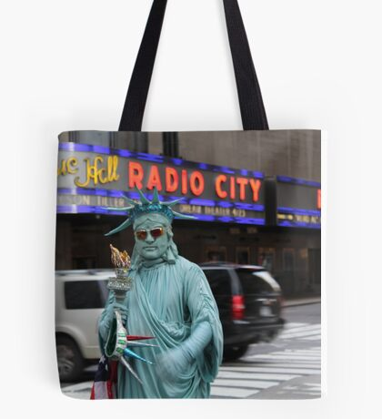 Radio City Music Hall Tote Bag