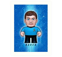 Dr. McCoy - Star Trek Caricature Art Print