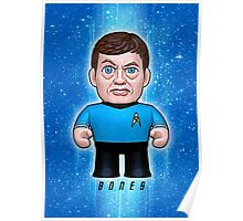 Dr. McCoy - Star Trek Caricature Poster