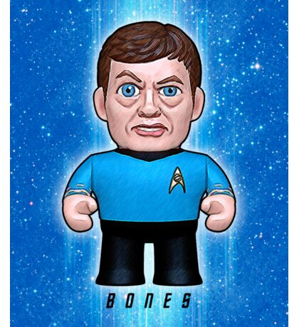 Dr. McCoy - Star Trek Caricature Sticker