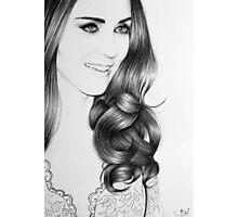 Duchess Catherine Minimal Portrait Photographic Print