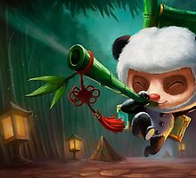 League Of Legends - Teemo Panda by mariafumada