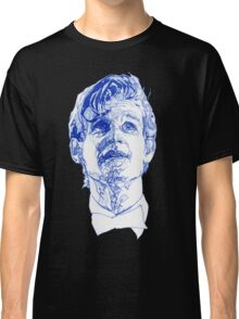 Eleven In Tardis Blue  Classic T-Shirt