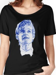 Eleven In Tardis Blue  Women's Relaxed Fit T-Shirt