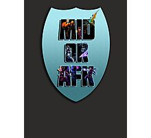 Mid or AFK Photographic Print