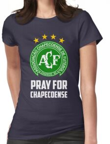 Pray for Chapecoense Womens Fitted T-Shirt