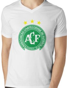 Chapecoense Merchandise Mens V-Neck T-Shirt