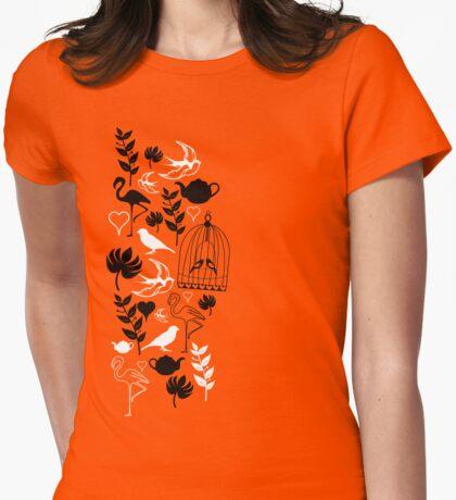 songbird tee  Womens Fitted T-Shirt