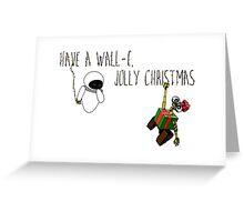 Wall-E, Jolly Christmas Greeting Card