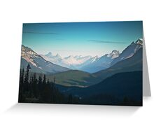 Valley, Banff National Park - Canadian Rockies - Alberta Greeting Card