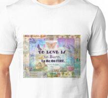 Jane Austen Love Quote Unisex T-Shirt