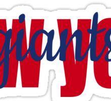 New York Giants Sticker
