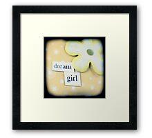 Dream girl Framed Print