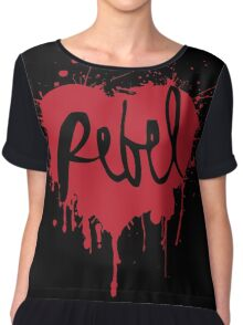 Rebel heart Chiffon Top