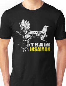 TRAIN INSAIYAN (Goku Hardcore Squat) Unisex T-Shirt