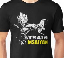 TRAIN INSAIYAN (Goku Hardcore Squat) Unisex T-Shirt