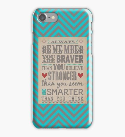 Always Remember... iPhone Case/Skin