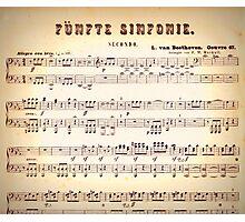 Beethoven Sinfonien Photographic Print