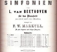 Beethoven Sinfonien by Krzyzanowski Art