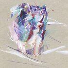 Rat sketch by Anaïs Chesnoy