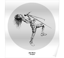 Axl Rose Poster