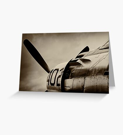 Skyraider Greeting Card