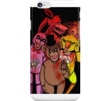 Just your friendly animatronic pals iPhone Case/Skin