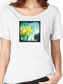 Daffodils Women's Relaxed Fit T-Shirt