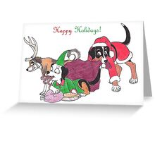 Happy Holidays 2016 Greeting Card