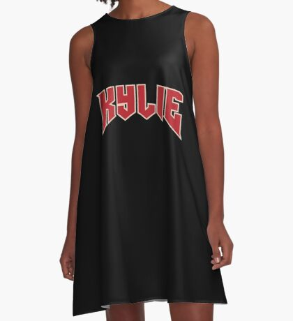 KYLIE Logo A-Line Dress