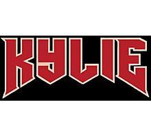 KYLIE Logo Photographic Print