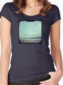 Time for a stroll Women's Fitted Scoop T-Shirt