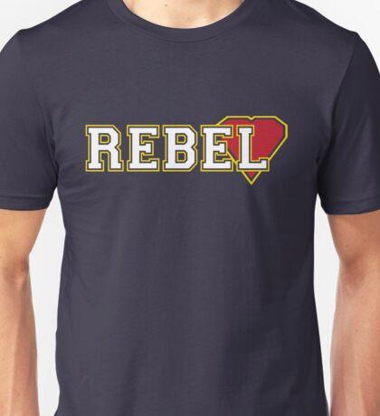 Rebel heart [varsity] Unisex T-Shirt