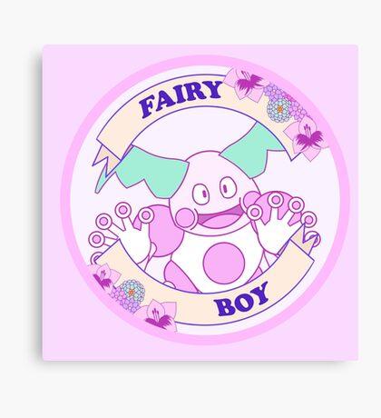Fairy Boy Canvas Print
