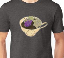 Tea & Succulents Unisex T-Shirt