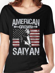 American Grown Saiyan Women's Relaxed Fit T-Shirt
