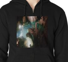 Luray Caverns Coin Pond Zipped Hoodie