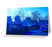 New York City FDR Drive Greeting Card