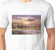 Morning return: Lancasters at sunrise Unisex T-Shirt