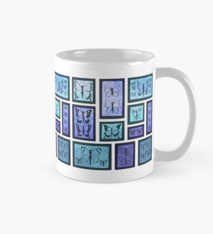 Butterfly Collection - Blue Mug
