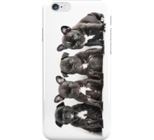 Four Frenchies iPhone Case/Skin