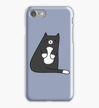 Cute Tuxedo Kitty iPhone Case/Skin