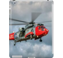 Royal Navy Search and Rescue Sea King Helicopter iPad Case/Skin