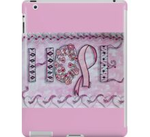 Hope (Breast Cancer Awareness) iPad Case/Skin