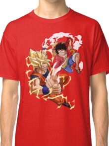 Goku VS Luffy Classic T-Shirt