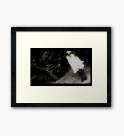 Ghost Girl Framed Print