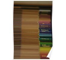 Coloured Crayons DoF Poster
