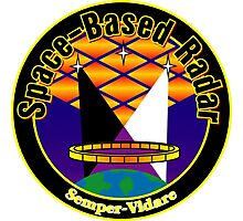 Space Based Radar Program Logo Photographic Print