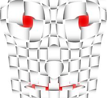 frightening mask by siloto